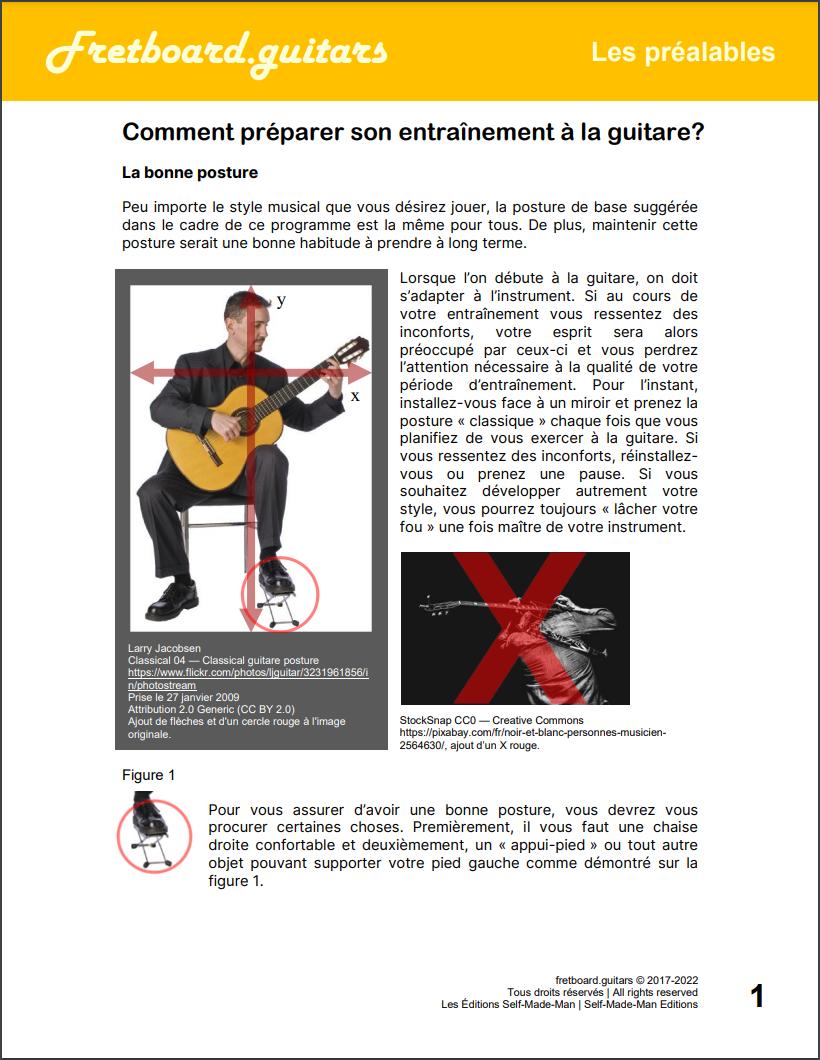 Comment préparer son entraînement à la guitare?