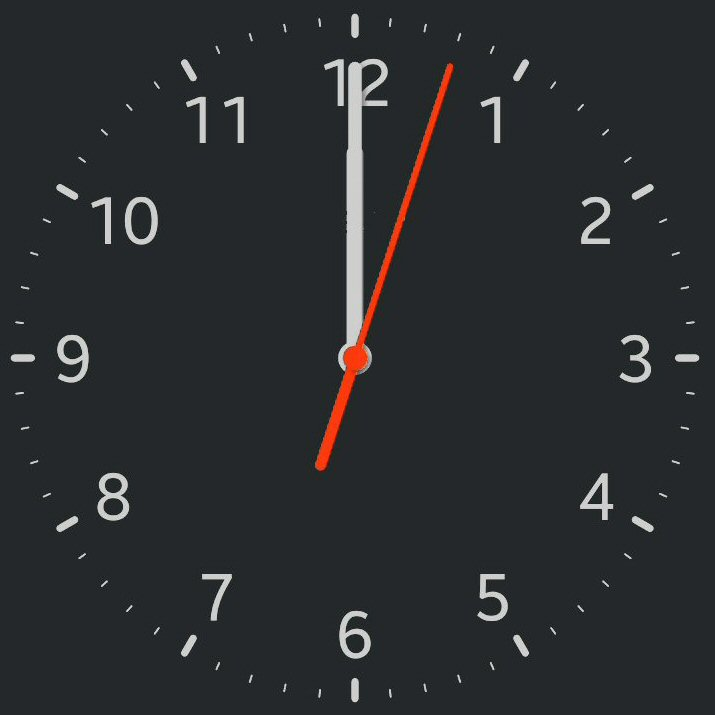 Exercice de l'horloge